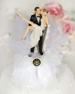 Funny Sexy Military Wedding Cake Topper Coast Guard