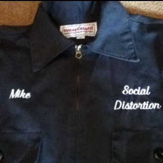 Social Distortion Embroidered Jacket Mike Ness
