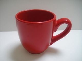 Tabletops Lifestyles Milano Coffee Tea Mugs Red s 4