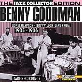 Rare Recordings 1935 1936 by Benny Goodman CD, Sep 1991, Laserlight