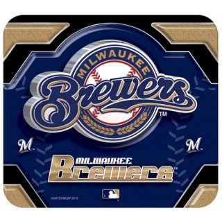 Milwaukee Brewers Team Logo Mouse Pad Mousepad MLB