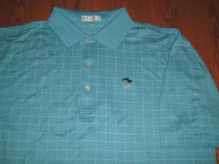 New Peter Millar Short Sleeve Golf Polo Shirt Mens Large