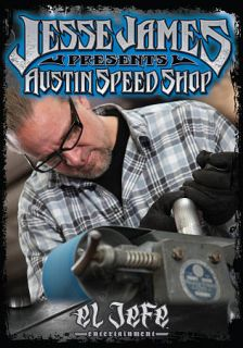 Jesse James Presents Austin Speed Shop DVD, 2011