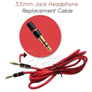 5mm Mini Jack Audio Headphones Replacement Cable