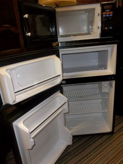 Microfridge Mini Fridge Microwave Set