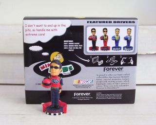 Legends of The Track NASCAR Dupont Mini Bobble Bobblehead