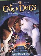 Cats Dogs DVD, 2001, Full Frame Version