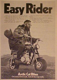 1971 Arctic Cat Easy Rider Motorcycle Mini Bikes Trail Trade Ad