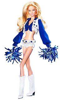 Dallas Cowboys Cheerleaders 2008 Barbie Doll