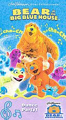 Bear in the Big Blue House   Dance Party VHS, 2002
