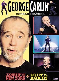 George Carlin   Jammin in New York Doin It Again DVD, 2000, Closed