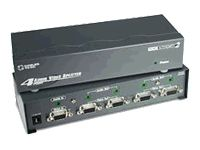 to Go Cables To Go Port Authority 39968 4 Ports External Video audio