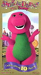 Barney   Sing and Dance With Barney VHS, 1999