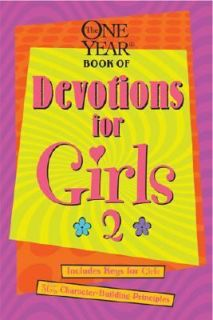 The One Year Devos for Girls Vol. 2 2002, Paperback