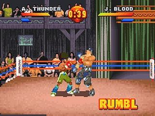 Ready 2 Rumble Boxing Round 2 Nintendo Game Boy Advance, 2001
