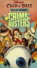 Walt Disney Chip N Dale Rescue Rangers   Crimebusters VHS, 1991