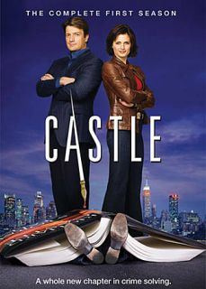 Castle The Complete First Season DVD, 2009, 3 Disc Set
