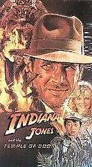 Indiana Jones and the Temple of Doom VHS, 1989