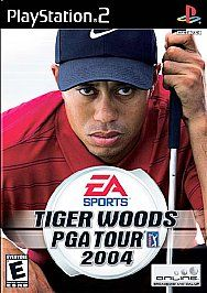 Tiger Woods PGA Tour 2004 Sony PlayStation 2, 2003
