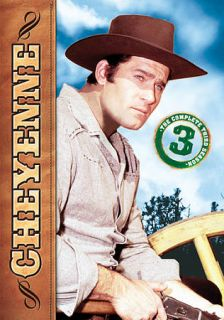 Cheyenne The Complete Third Season DVD, 2012, 5 Disc Set