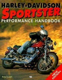 Harley Davidson Sportster Performance Handbook by Buzz Buzzelli 1998