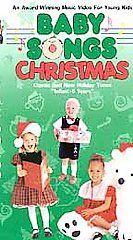Baby Songs Baby Songs Christmas VHS, 1999, Slip Sleeve