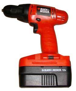 Black Decker PS1800 18V Cordless Drill Driver