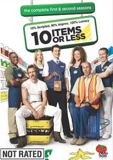 10 Items or Less The Complete First and Second Seasons DVD, 2008, 2