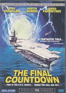 he Final Coundown DVD, 2004, Widescreen Ediion