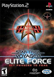 Star Trek Voyager Elite Force Sony PlayStation 2, 2001