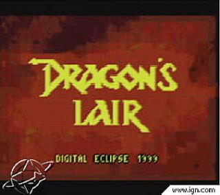Dragons Lair Nintendo Game Boy Color, 2001