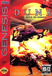 Dune The Battle for Arrakis Sega Genesis, 1994