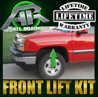 AR 1 3 Inch Front Leveling Full Lift Kit 2001 2006 Chevy Avalanche