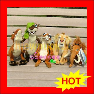 "2009 20th Century Fox Plush ""Sid"" Yellow Sloth ~ Ice Age Dawn Of"