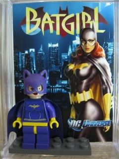 Lego Minifig  DC Batgirl 60`s Batman  Custom Minifigure Free Collector