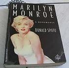 MONROE / DONALD SPOTO   A biografia   BOOK / PORT.   MEGA RARE