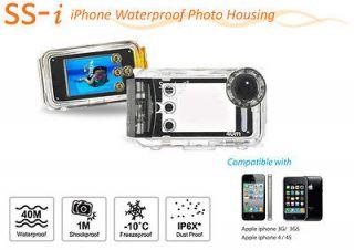 Seashell SS i Apple iphone Underwater Housing camera Case Scuba Dive