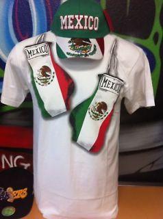 Julio Cesar Chavez Sr Jr Sergio Martinez MEXICO BOXING WHITE SHIRT TEE