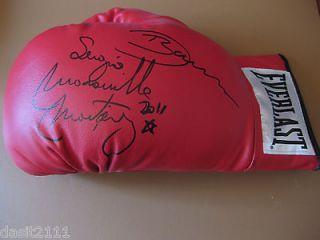 Autographed Sergio Maravilla Martinez Red Everlast Boxing Glove