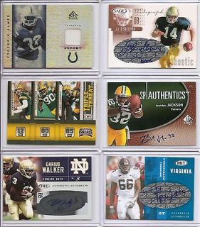 11 Panini Threads Triple Threat Packers Aaron Rodgers Driver Jennings