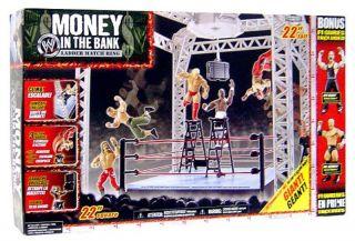 WWE Jakks Money in the Bank Ladder Match Ring + Jeff Hardy & Mr
