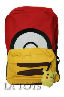 Plush Backpack Pokemon Black & White by Accessory Innovations NwTs