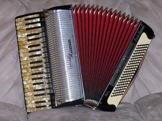 PAOLO SOPRANI SPECIAL MODEL Accordion Accordian Akkordeon   4/5 Hand