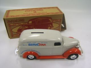 Ertl 1938 Chevy Panel Truck die cast Servistar MIB