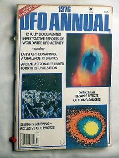 1976 UFO Annual ~ Flying Saucers ~ Men in Black ~ Ancient Astronauts