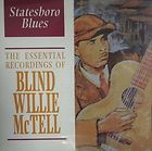 Blind WILLIE Mc Tell CD Piedmont Blues ACOUSTIC Guitar