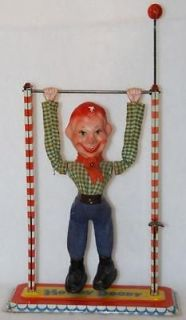 Vintage 16 Howdy Doody Live Acrobat Composition Doll 1950s Working