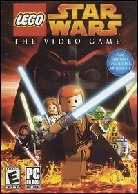 Lego Star Wars The Video Game PC CD movie action game!