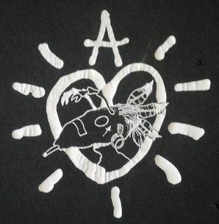 ADAM ANT vintage distressed 1995 tour t shirt   new wave rock punk