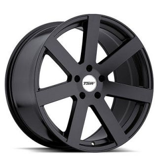 18 TSW BARDO Matte Black WHEELS RIMS FIT Mercedes W203 C230 C280 C350